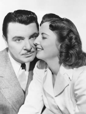 The Gay Sisters, from Left: George Brent, Barbara Stanwyck, 1942