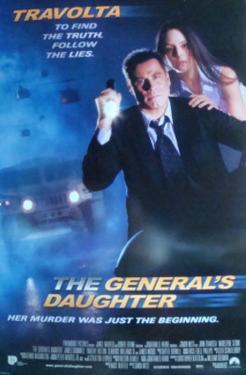 The General's Daughter (John Travolta, Madeleine Stowe) Movie Poster