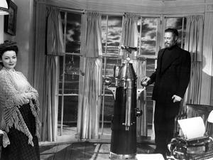 The Ghost and Mrs. Muir, Gene Tierney, Rex Harrison, 1947