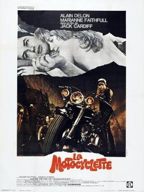 THE GIRL ON A MOTORCYCLE (aka LA MOTOCYCLETTE)
