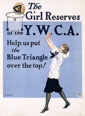 The Girl Reserves of the Y.W.C.A. Poster