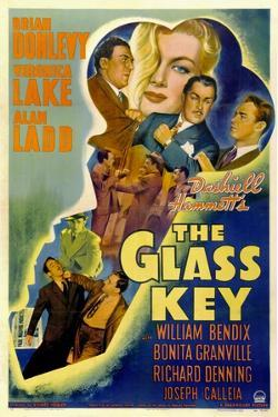 The Glass Key, William Bendix, Veronica Lake, Brian Donlevy, Alan Ladd, 1942