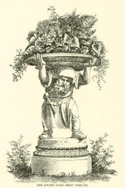 The Gnome Vase, Mott Iron Company