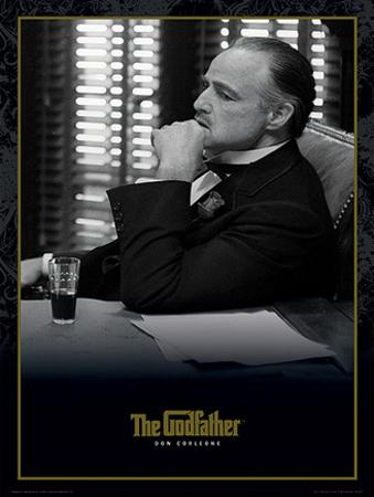 The Godfather (Don Corleone) Movie Poster