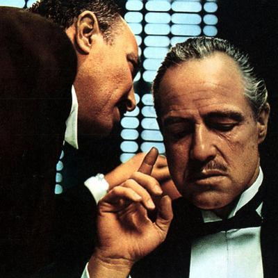The Godfather, Salvatore Corsitto, Marlon Brando, 1972