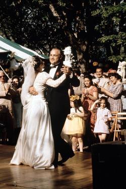 The Godfather, Talia Shire, Marlon Brando, 1972
