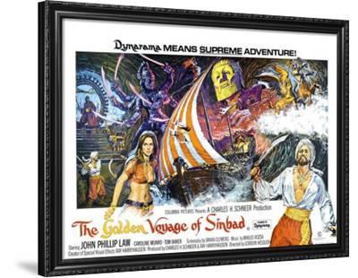 The Golden Voyage Of Sinbad--Framed Poster
