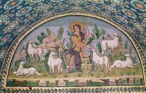 The Good Shepherd, Lunette from Above the Entrance
