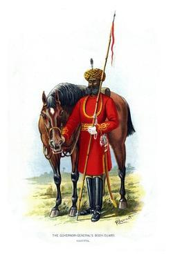 The Governor General's Body Guard, C1890 by H Bunnett