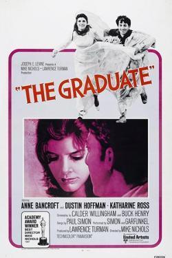 The Graduate, Katharine Ross, Dustin Hoffman, 1967