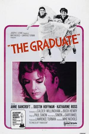 The Graduate, Katharine Ross, Dustin Hoffman, 1967
