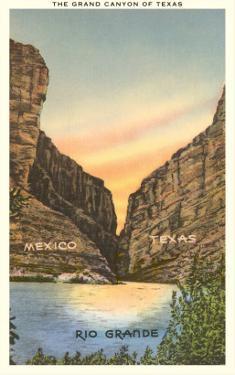The Grand Canyon of Texas, Rio Grande