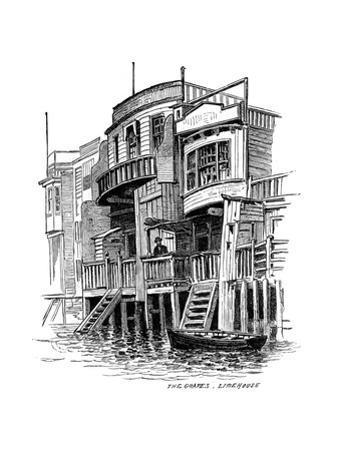 The Grapes Public House, Limehouse, London, 1887