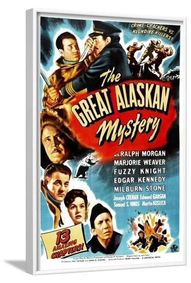 The Great Alaskan Mystery--Framed Art Print