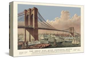 The Great East River Suspension Bridge, 1877