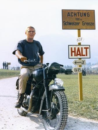 The Great Escape 1963 Directed by John Sturges Steve Mcqueen