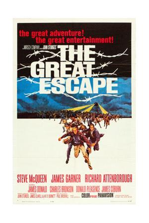 The Great Escape, 1963 Poster Art