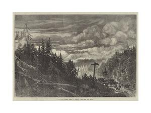 The Great Forest Fires in America, View Near Fox River