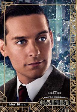 The Great Gatsby (Leonardo DiCaprio, Carey Mulligan, Tobey Maguire) Movie Poster
