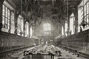 The Great Hall of the Middle Temple, from 'London Pictures: Drawn with Pen and Pencil', by Rev.…