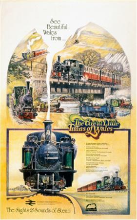 The Great Little Trains of Wales, the Sights and Sounds of Steam