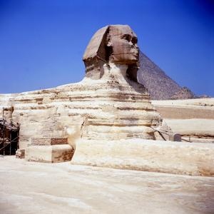 The Great Sphinx at Giza, Ancient Egyptian, C2550 BC