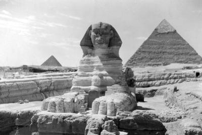 The Great Sphinx of Giza, Egypt, May 1949