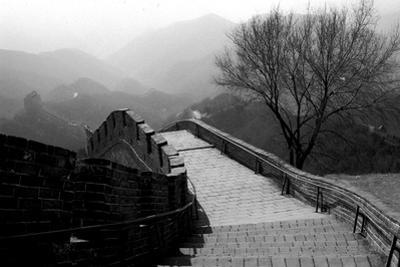 The Great Wall of China, Photo Taken on February 2001
