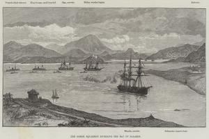 The Greek Squadron Entering the Bay of Salamis