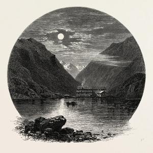 The Grimsel Hospice, Grimsel Hospiz, Switzerland, the Passes of the Alps, 19th Century