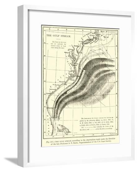 The Gulf Stream--Framed Giclee Print