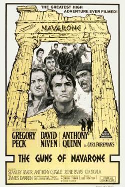 The Guns of Navarone, Australian Movie Poster, 1961