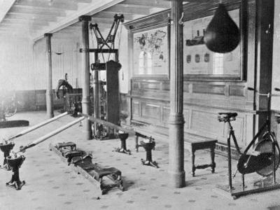 The Gymnasium of the Titanic