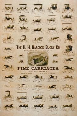 'The H.H. Babcock Buggy Company, Fine Carriages'
