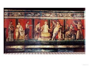 The Hall of Mysteries, Pompeii, 79 AD