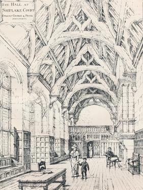 The Hall, Shiplake Court, 1898