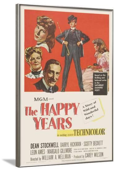 The Happy Years--Framed Poster