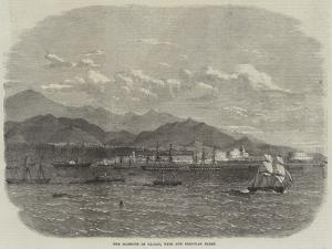 The Harbour of Callao, with the Peruvian Fleet