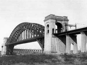 The Hell Gate Bridge in New York City