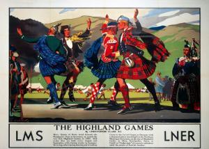 The Highland Games, LMS and LNER, c.1930s