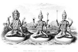 The Hindu Trinity, C1800