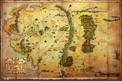 The Hobbit-Map