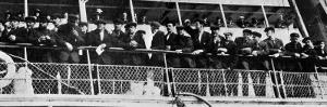 The Home Coming of the 210 Survivors of the Titanic's Crew