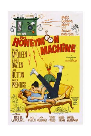 The Honeymoon Machine, Steve Mcqueen, Brigid Bazlen, 1961