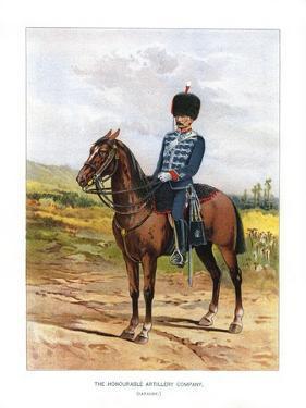 The Honourable Artillery Company (Cavalr), C1890 by H Bunnett