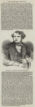 The Honourable E H Stanley, Mp for Lynn-Regis