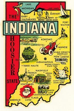 The Hoosier State Map