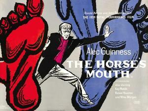 The Horses Mouth, UK Movie Poster, 1959