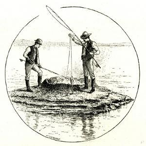 The Hot Cone in the Yellowstone Lake 1891, USA