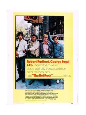 The Hot Rock, from Left: Paul Sand, Ron Liebman, Robert Redford, George Segal, 1972